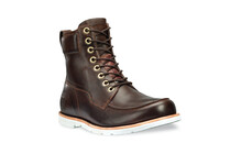 Timberland Men EK Rugged 2.0 Waterproof Moc Toe Boot dark brown